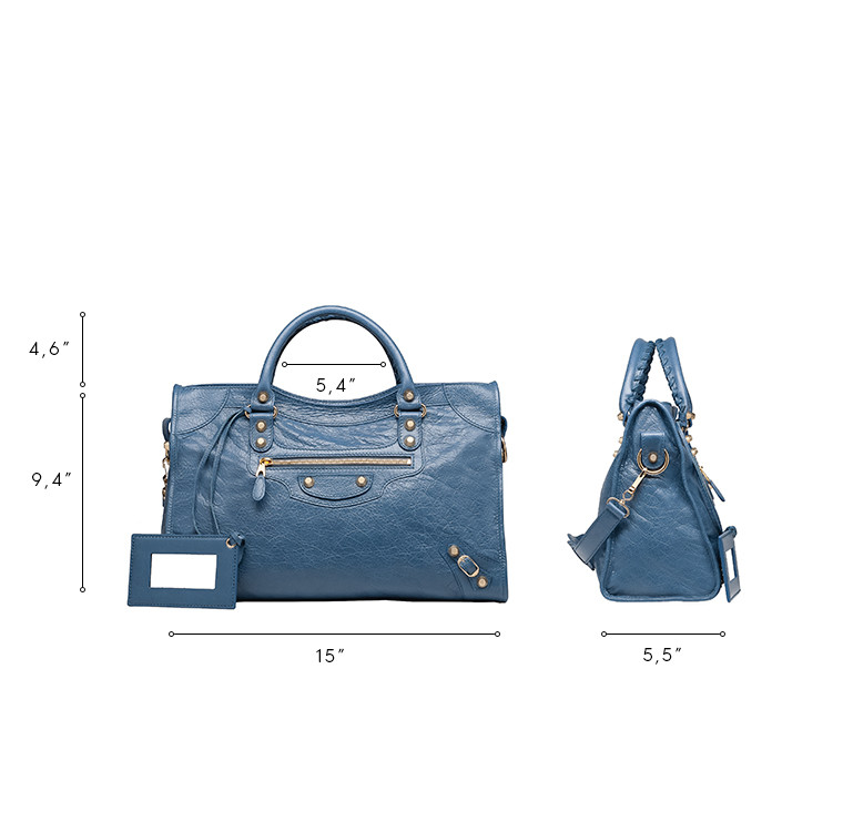 BALENCIAGA Giant City Handbags D Giant 12 Gold City n