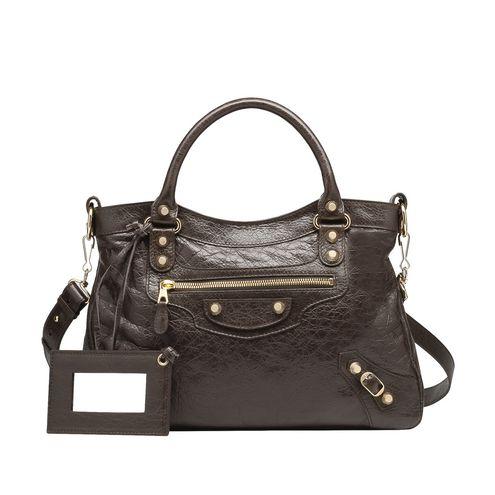 BALENCIAGA Giant Town Handbag D Balenciaga Giant 12 Gold Town f