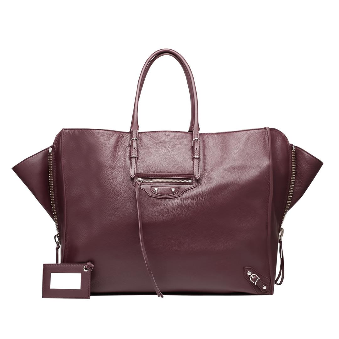 BALENCIAGA Balenciaga Papier A4 Zip Around Papier ZA Handbag D f