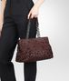 BOTTEGA VENETA Aubergine Intreccio Tobu Bag Shoulder or hobo bag D ap