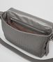 BOTTEGA VENETA MESSENGER-TASCHE AUS INTRECCIATO KALBSLEDER IN NEW LIGHT GREY Messenger Tasche U dp