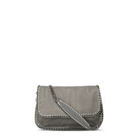 STELLA McCARTNEY Falabella Shoulder bags D Black Falabella Shaggy Deer Messenger Bag f
