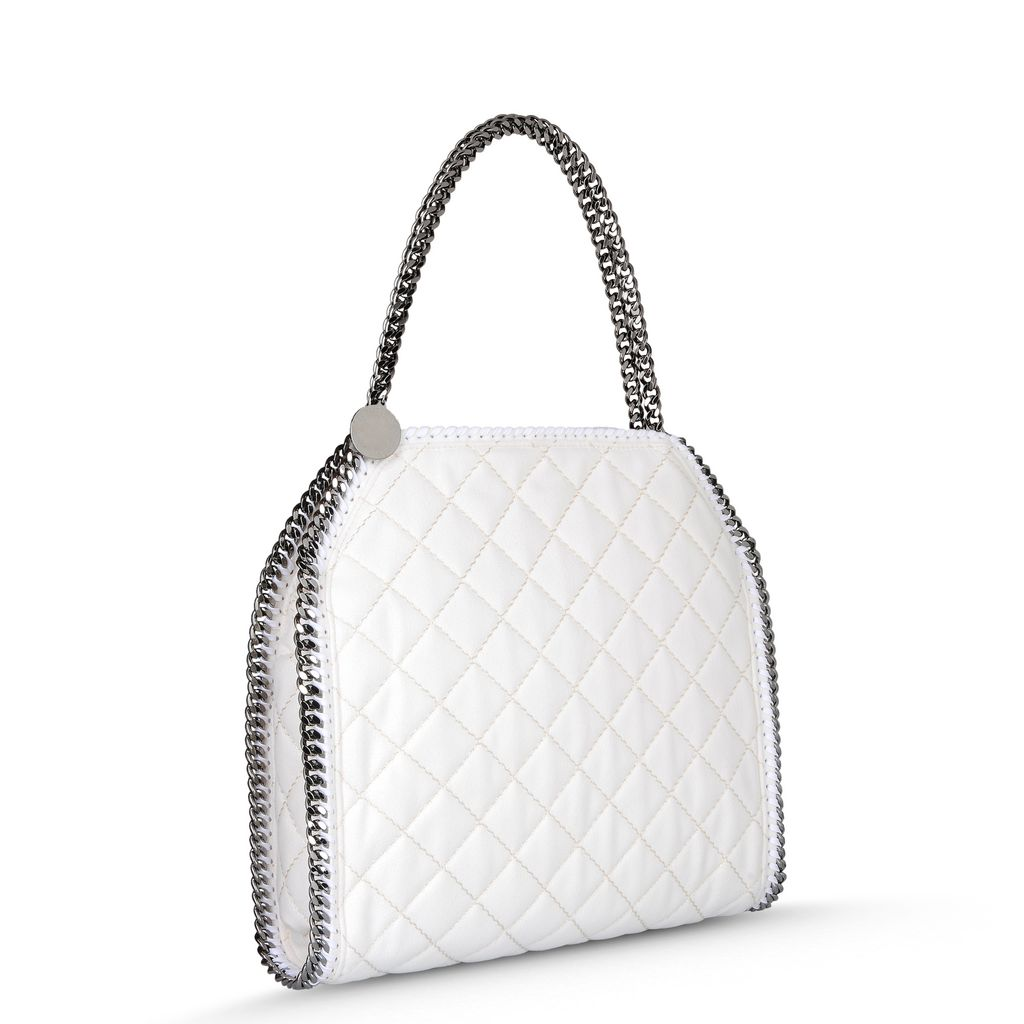 Falabella Quilted Small Tote - STELLA MCCARTNEY