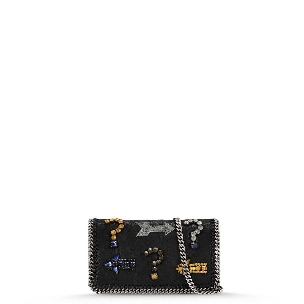 Falabella Embroidery Cross Body Bag  - STELLA MCCARTNEY