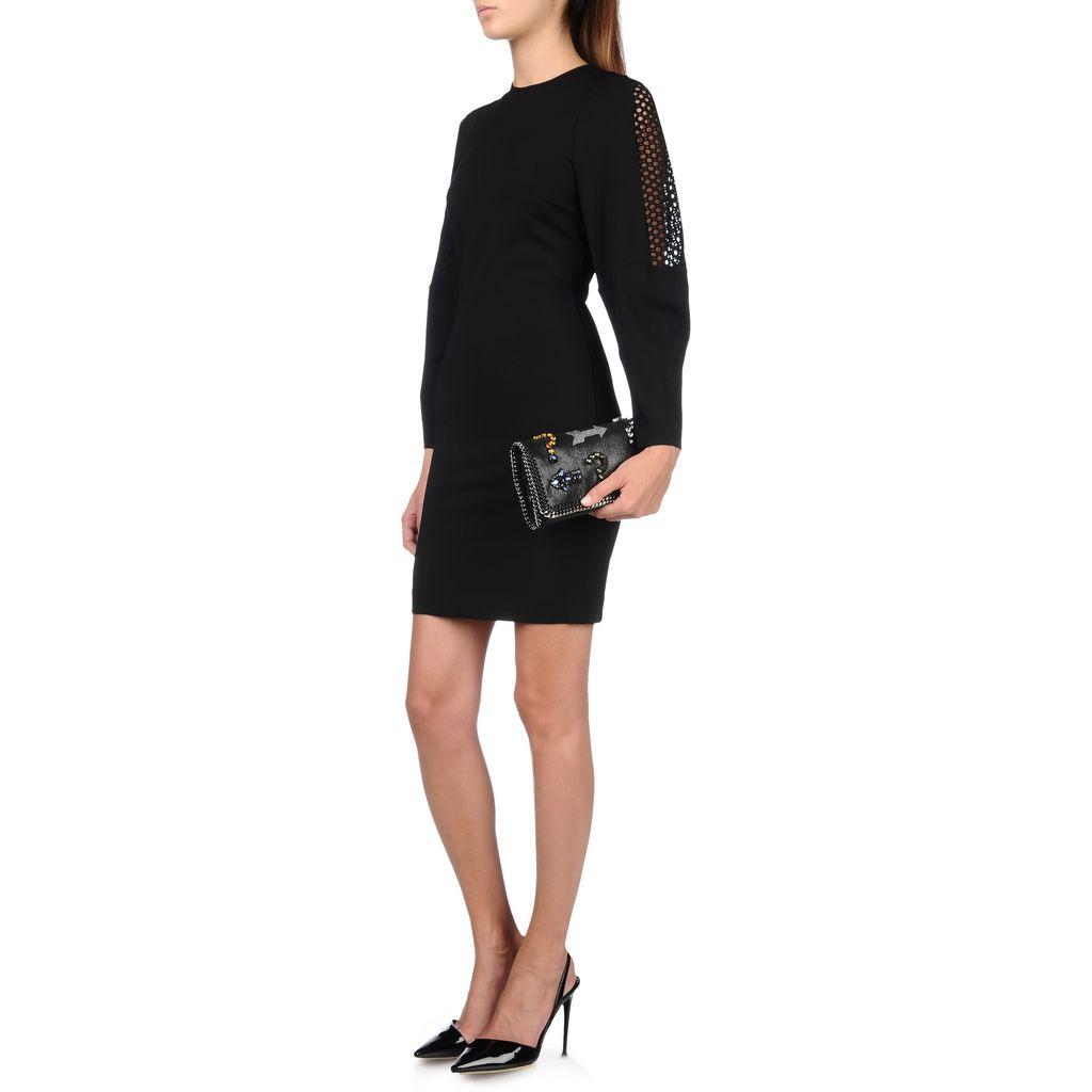 Falabella Embroidery Cross Body Bag  - STELLA MCCARTNEY