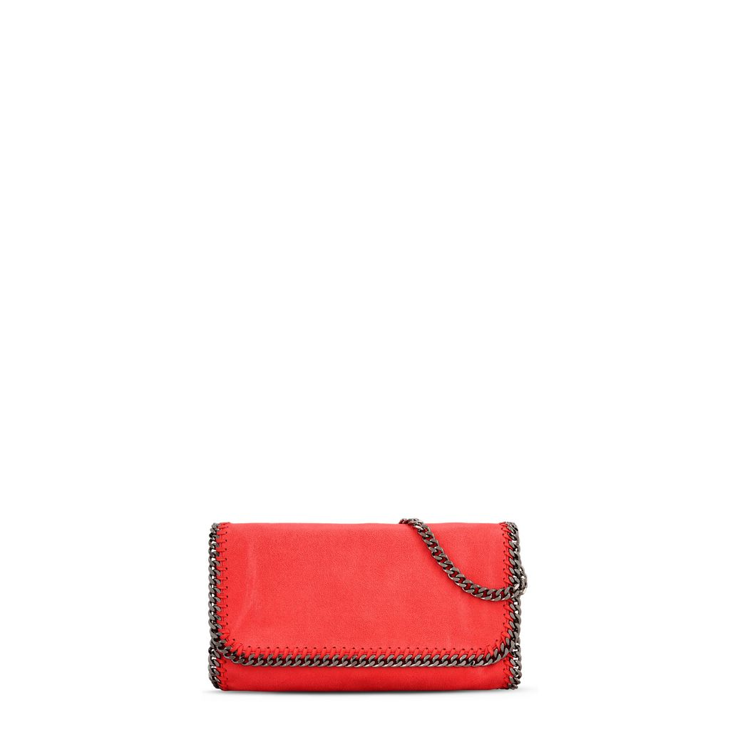 Falabella Clutch in Shaggy Deer  - STELLA MCCARTNEY