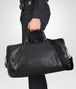 BOTTEGA VENETA Nero Intrecciato Washed Nappa Duffel bag Trolley and Carry-on bag U ap
