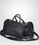 BOTTEGA VENETA Nero Intrecciato Washed Nappa Duffel bag Trolley and Carry-on bag U rp