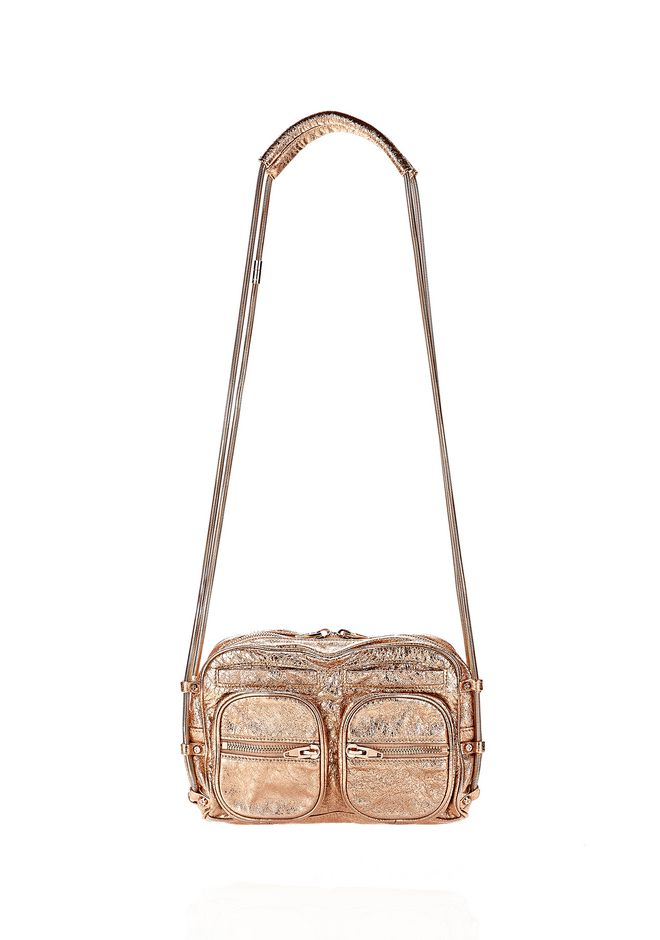 BRENDA CHAIN FOIL IN ROSE GOLD | Shoulder Bag | Alexander Wang ...