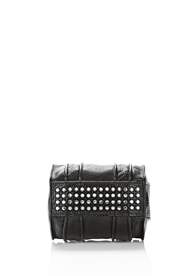 ALEXANDER WANG INSIDE OUT ROCKIE SLING IN SHINY BLACK Shoulder bag Adult 12_n_d