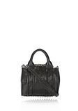 ALEXANDER WANG INSIDE OUT ROCKIE SLING IN SHINY BLACK Shoulder bag Adult 8_n_f