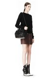 ALEXANDER WANG INSIDE OUT ROCKIE SLING IN SHINY BLACK Shoulder bag Adult 8_n_r