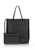 ALEXANDER WANG PRISMA SKELETAL TOTE IN BLACK WITH ROSE GOLD  TOTE Adult 8_n_e