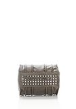 ALEXANDER WANG INSIDE-OUT ROCKIE IN GUNPOWDER WITH RHODIUM Shoulder bag Adult 8_n_d