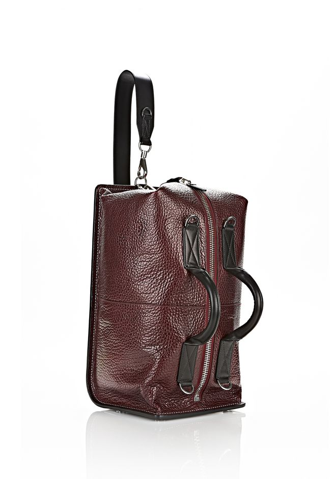 ALEXANDER WANG OPANCA DUFFLE IN CORDOVAN WITH RHODIUM Shoulder bag Adult 12_n_d