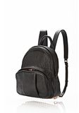 ALEXANDER WANG DUMBO BACKPACK IN BLACK WITH ROSE GOLD BACKPACK Adult 8_n_e