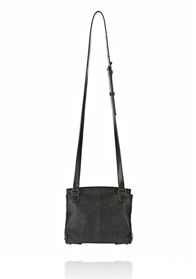 ALEXANDER WANG MARION SLING IN EMBOSSED BLACK Shoulder bag Adult 12_n_d