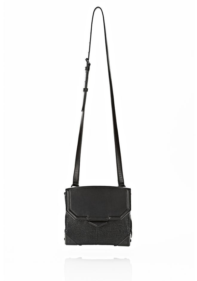 ALEXANDER WANG MARION SLING IN EMBOSSED BLACK Shoulder bag Adult 12_n_f