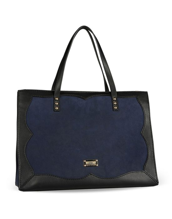 Large leather bag Woman MOSCHINO CHEAPANDCHIC