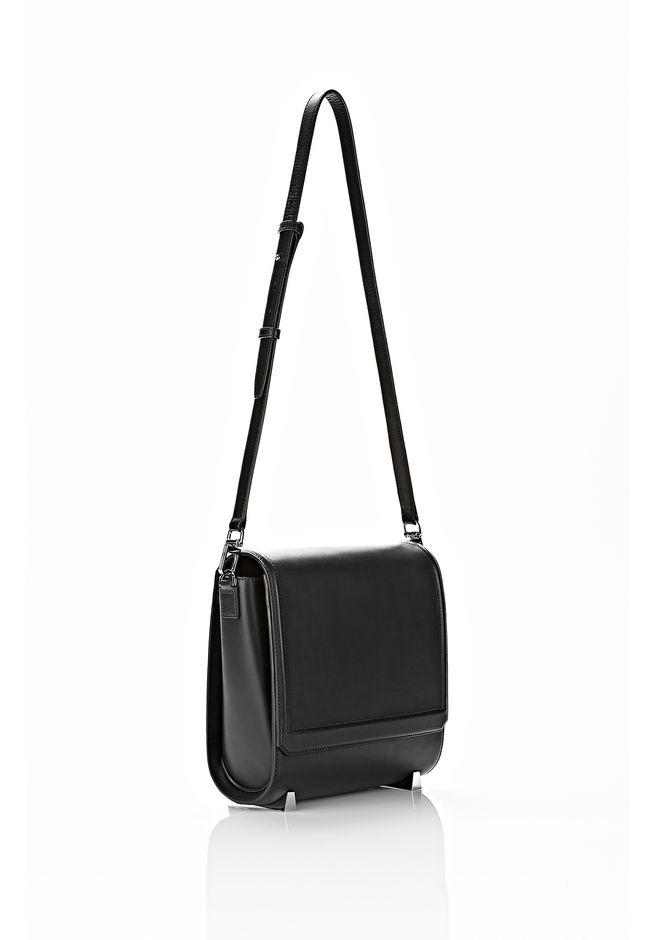 ALEXANDER WANG CHASTITY MESSENGER IN SMOOTH BLACK Shoulder bag Adult 12_n_a