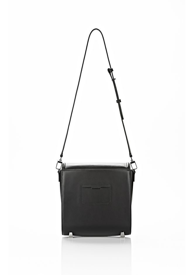 ALEXANDER WANG CHASTITY MESSENGER IN SMOOTH BLACK Shoulder bag Adult 12_n_d