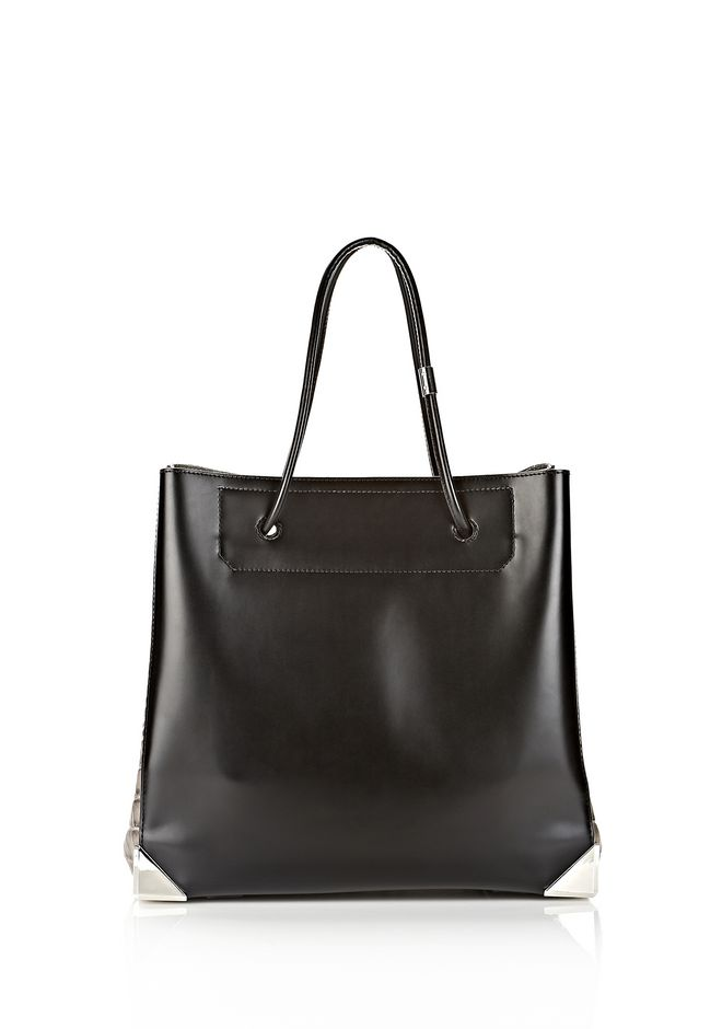 ALEXANDER WANG PRISMA LARGE TOTE IN EMBOSSED OYSTER TOTE Adult 12_n_f