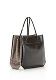 ALEXANDER WANG PRISMA LARGE TOTE IN EMBOSSED OYSTER TOTE Adult 8_n_e
