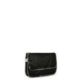 Black Falabella Shaggy Deer Messenger Bag
