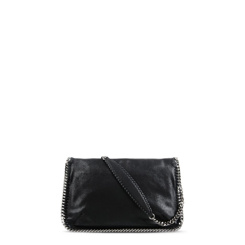 Black Falabella Shaggy Deer Messenger Bag - STELLA MCCARTNEY