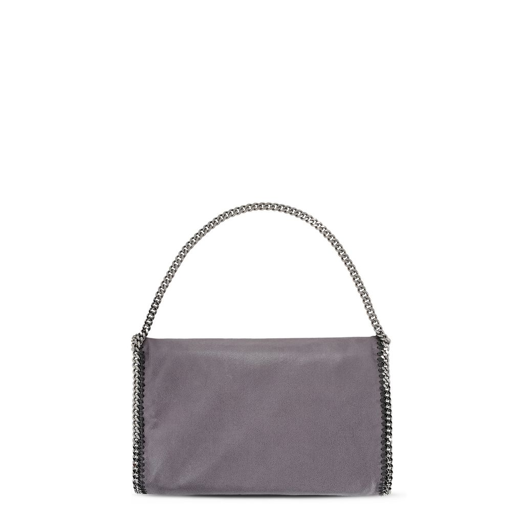 Bark Falabella Shaggy Deer Fold Over Tote - STELLA MCCARTNEY