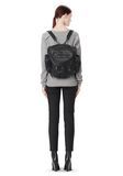 ALEXANDER WANG MARTI BACKPACK IN BLACK WITH MATTE BLACK BACKPACK Adult 8_n_r