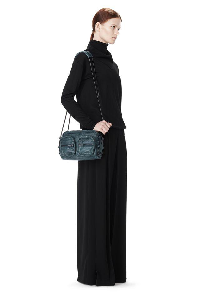 ALEXANDER WANG BRENDA CHAIN IN BOTTLE WITH MATTE BLACK Shoulder bag Adult 12_n_r