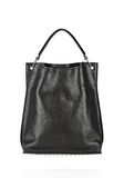 ALEXANDER WANG INSIDE OUT DARCY TOTE IN SHINY BLACK TOTE/DEL Adult 8_n_f