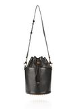 ALEXANDER WANG BUCKET BAG IN  BLACK WITH YELLOW GOLD Shoulder bag Adult 8_n_f