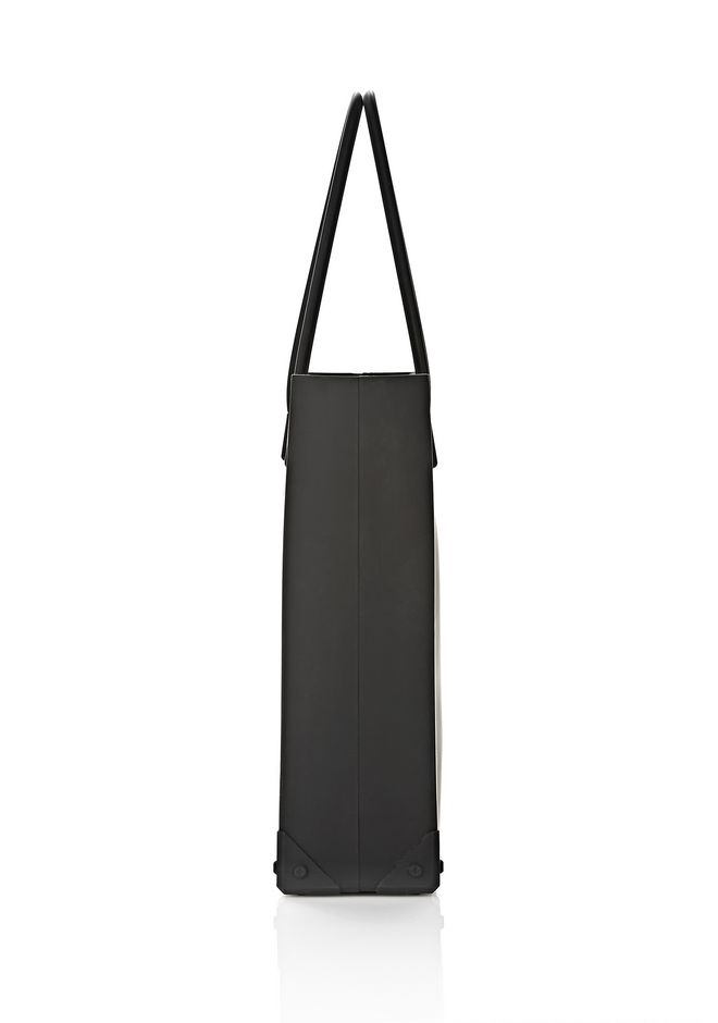 ALEXANDER WANG SILICON TOTE IN BLACK TOTE Adult 12_n_d