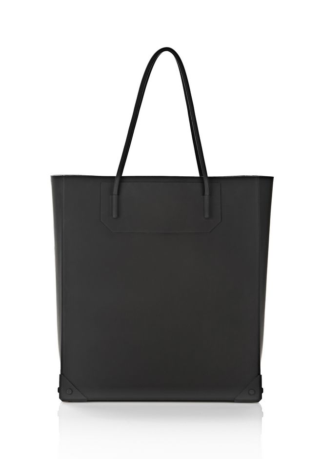 ALEXANDER WANG SILICON TOTE IN BLACK TOTE Adult 12_n_f