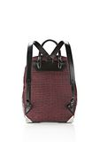 ALEXANDER WANG PRISMA SKELETAL BACKPACK IN BEET BACKPACK Adult 8_n_d