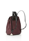 ALEXANDER WANG PRISMA SKELETAL BACKPACK IN BEET BACKPACK Adult 8_n_e
