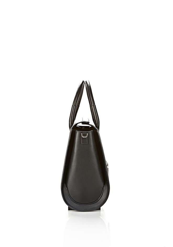 ALEXANDER WANG LARGE CHASTITY SATCHEL IN DISTRESSED NILE TOTE/DEL Adult 12_n_a