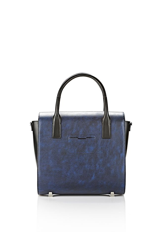 ALEXANDER WANG LARGE CHASTITY SATCHEL IN DISTRESSED NILE TOTE/DEL Adult 12_n_d