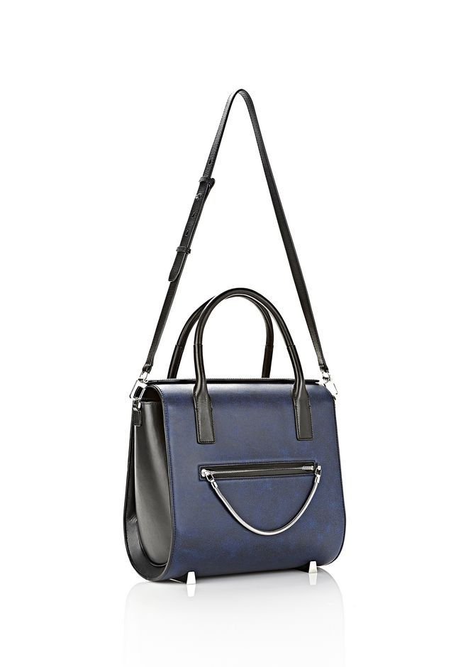 ALEXANDER WANG LARGE CHASTITY SATCHEL IN DISTRESSED NILE TOTE/DEL Adult 12_n_e