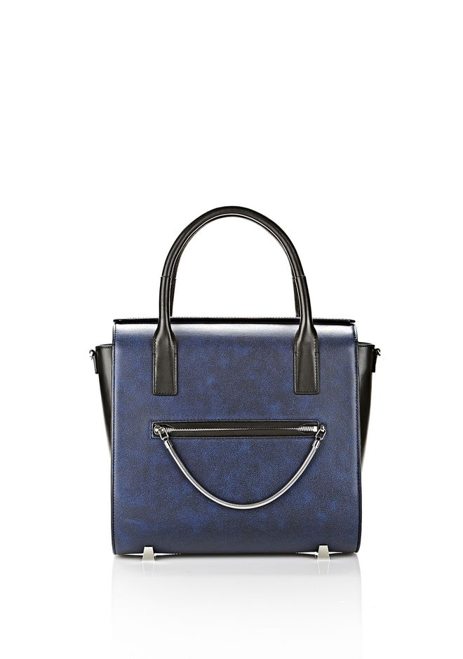 ALEXANDER WANG LARGE CHASTITY SATCHEL IN DISTRESSED NILE TOTE/DEL Adult 12_n_f