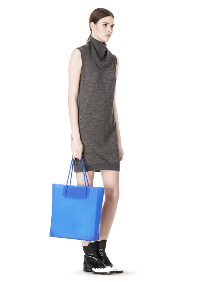 ALEXANDER WANG SILICON TOTE IN NILE TOTE/DEL Adult 12_n_r