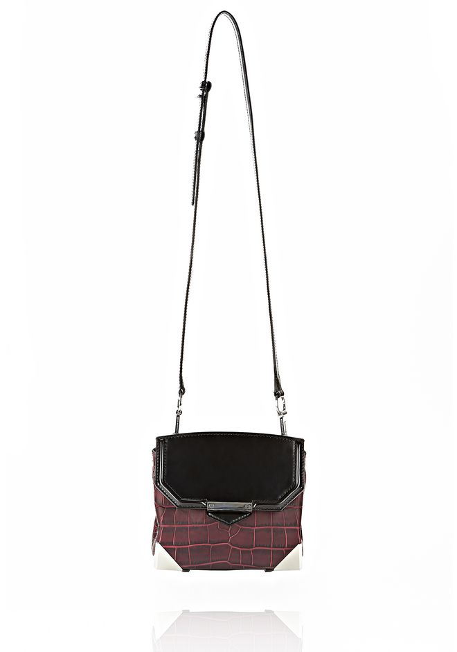 ALEXANDER WANG MARION SLING IN EMBOSSED BEET Shoulder bag Adult 12_n_f