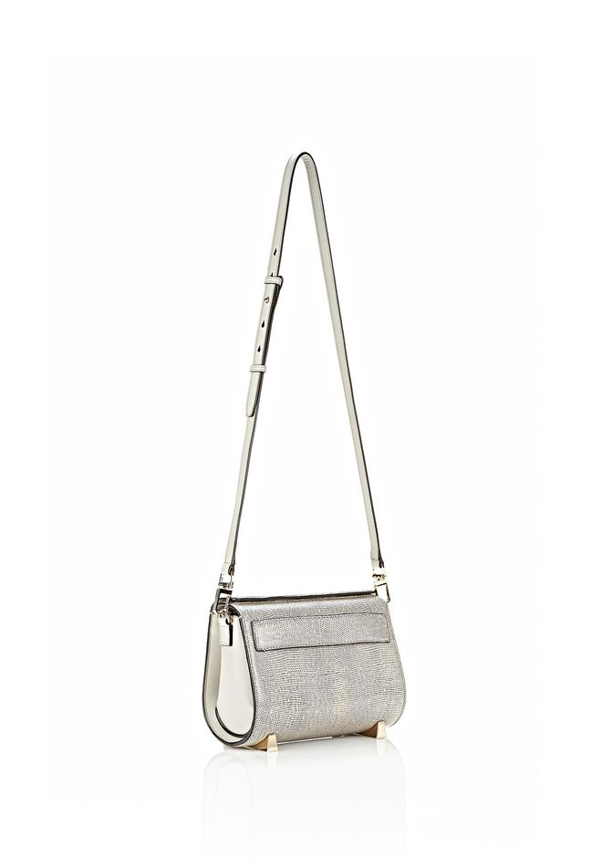ALEXANDER WANG CHASTITY SLING IN EMBOSSED OYSTER Shoulder bag Adult 12_n_e