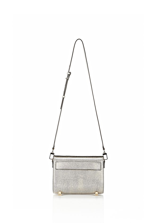 ALEXANDER WANG CHASTITY SLING IN EMBOSSED OYSTER Shoulder bag Adult 12_n_f