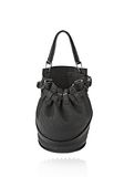 ALEXANDER WANG INSDIE OUT DIEGO BUCKET IN BLACK RUBBER LAMINATED Shoulder bag Adult 8_n_f