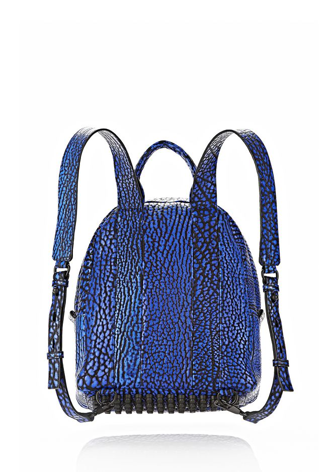 ALEXANDER WANG DUMBO BACKPACK IN CONTRAST TIP NILE BACKPACK Adult 12_n_d