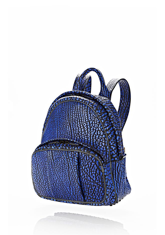 ALEXANDER WANG DUMBO BACKPACK IN CONTRAST TIP NILE BACKPACK Adult 12_n_e