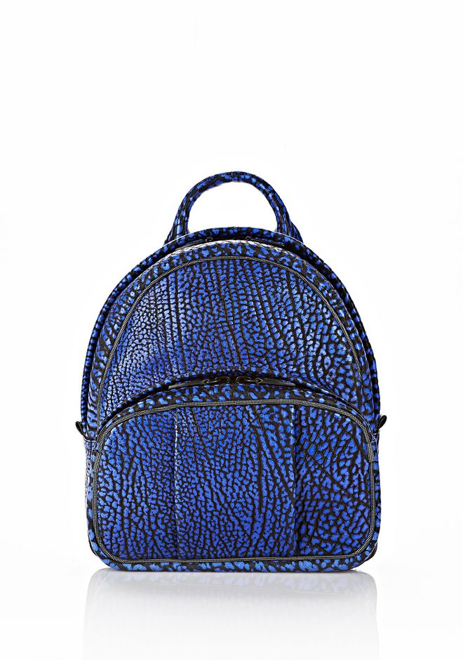 ALEXANDER WANG DUMBO BACKPACK IN CONTRAST TIP NILE BACKPACK Adult 12_n_f